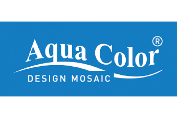 Aqua Color Mosaic